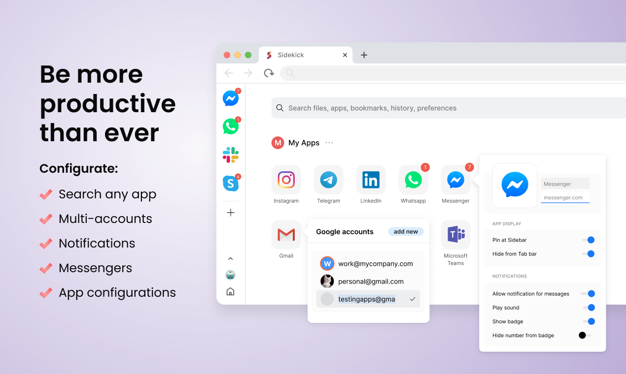 Sidekick Browser Product Hunt Image
