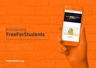 FreeForStudents - The best free stuff for students, all in one place