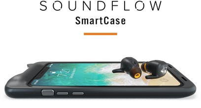 sports shoes 304db 19bfe SoundFlow - Wireless earbuds stored & charged in your phone case ...