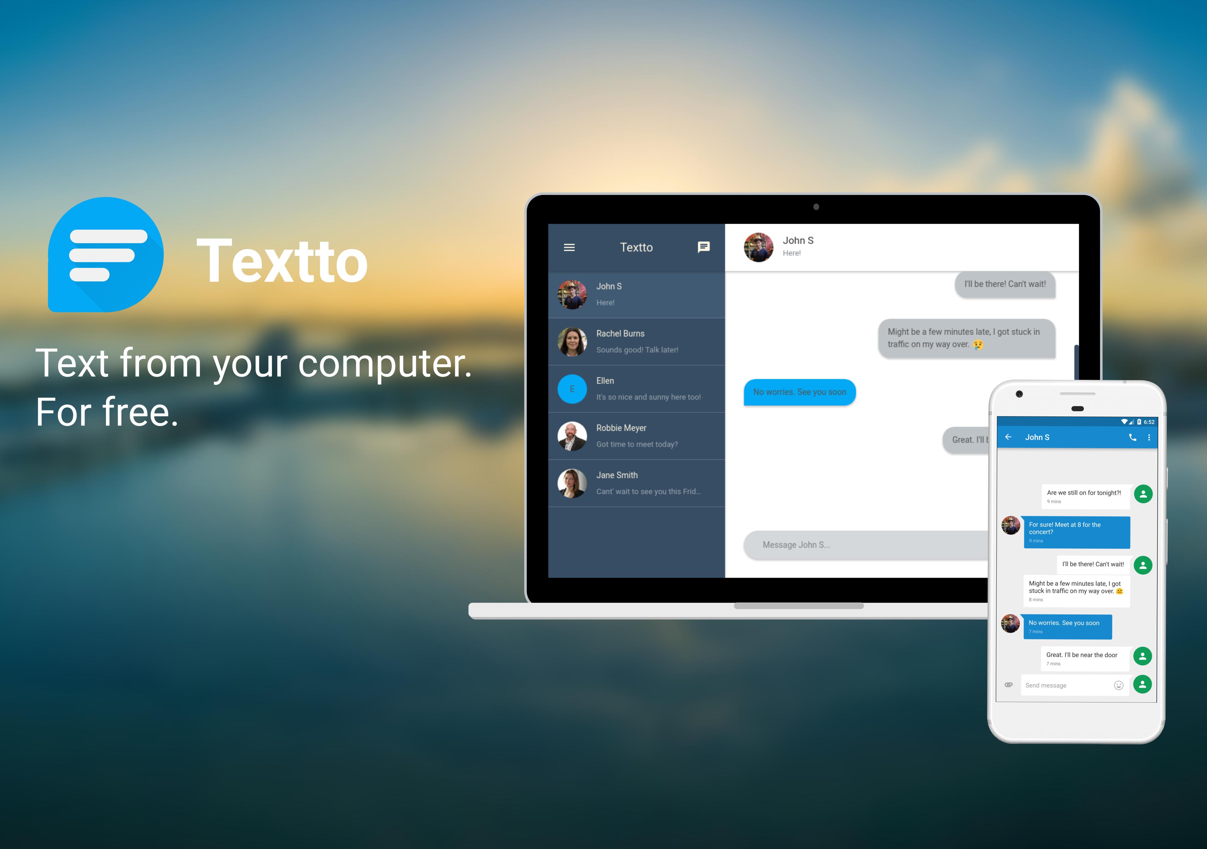 мессенджер Windows, Textto