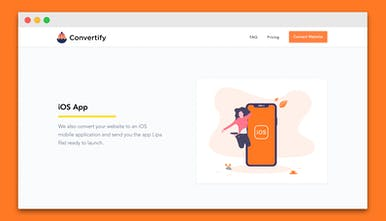 Convertify - Convert your website to an iOS and Android app