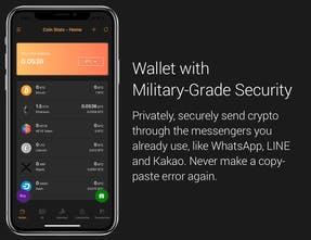 cryptocurrency wallet iphone