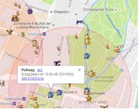 PoGoMap - The fastest Pokémon Go Map available | Product Hunt