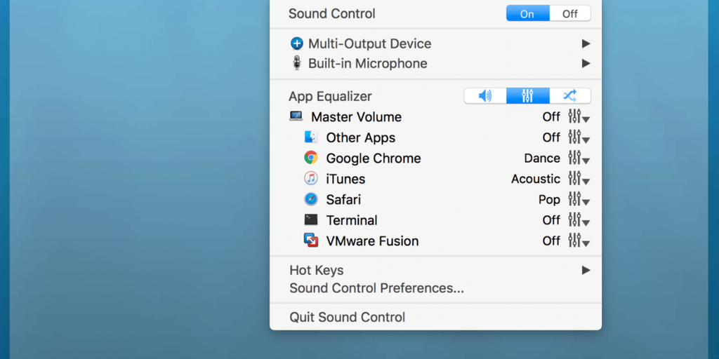 Sound Control - App-specific volume control | Product Hunt