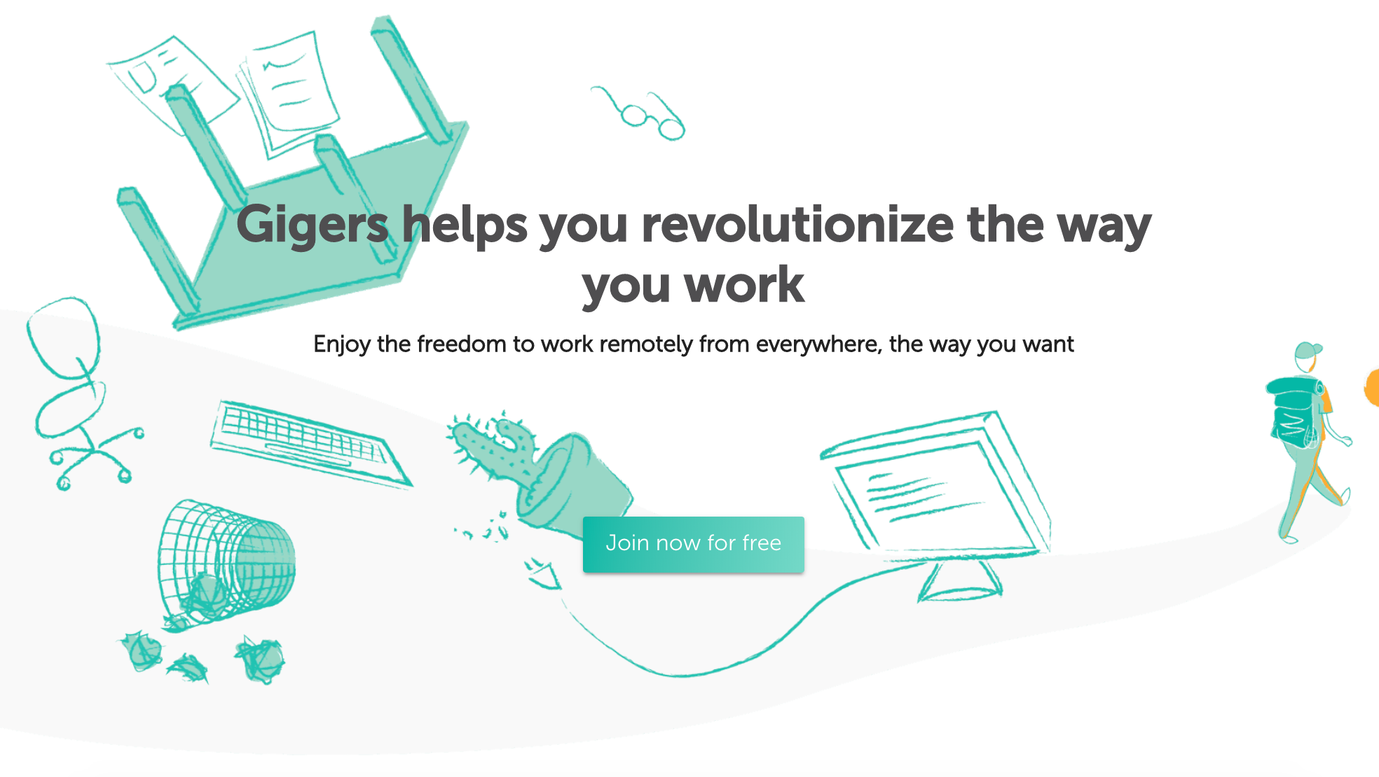 Gigers - Social community of digital nomads and remote workers