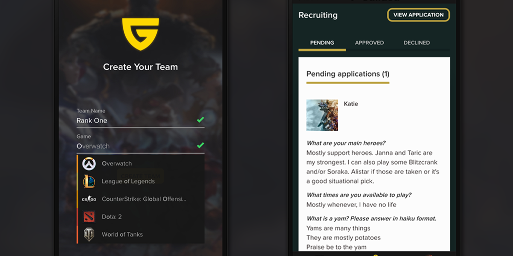 Guilded - Find, manage, and challenge gaming teams | Product