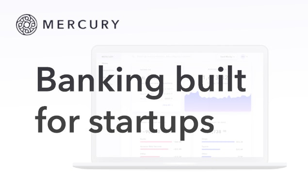 Mercury - Bank accounts built for startups