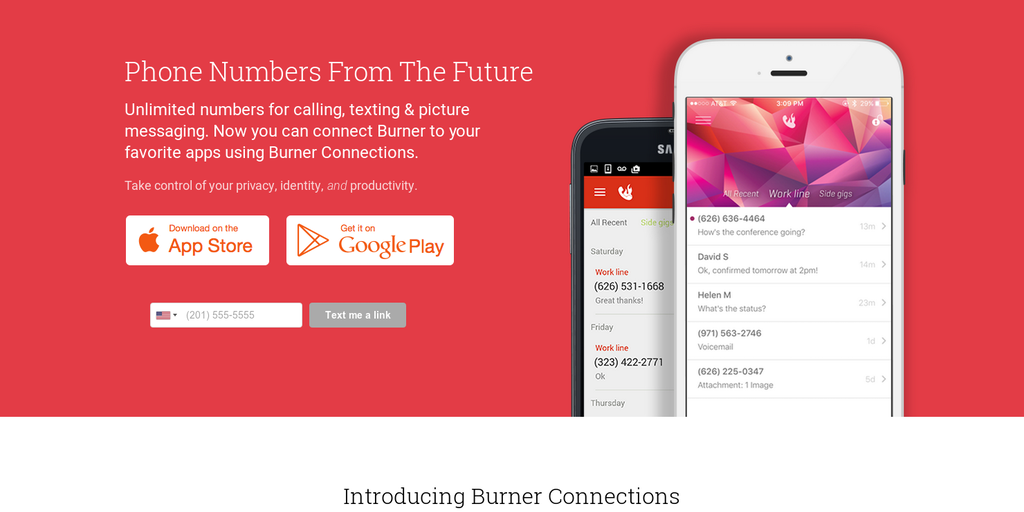 Burner 3 0 - Disposable phone numbers -- now with MMS photo