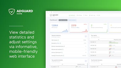 AdGuard Home - Powerful network-wide tool against ads & tracking