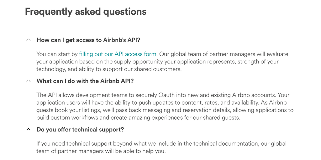 Airbnb Official API - Develop your application for millions of