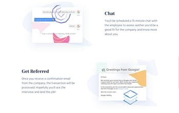 Referral HQ - Get referrals at Google, Facebook, and other