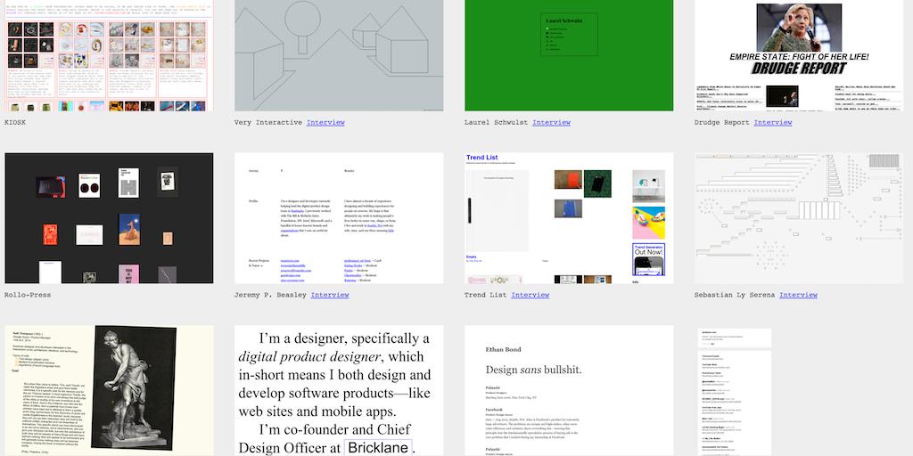 Brutalist Websites - Websites without the modern design trends