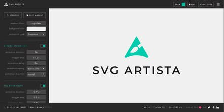 Svg Artista Little Tool That Helps You Create Svg Animations Product Hunt