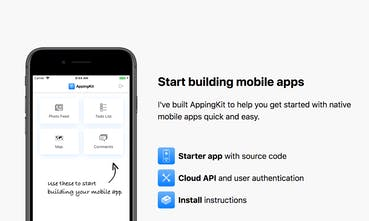 AppingKit - A starter template to build mobile apps with