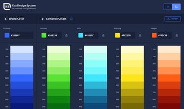Eva Colors - Deep learning color generator | Product Hunt