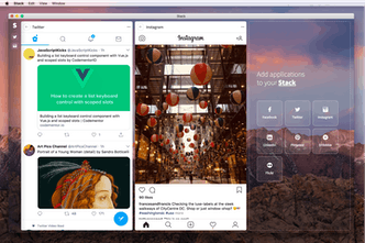 Stack - Tweetdeck for all your social apps | Product Hunt