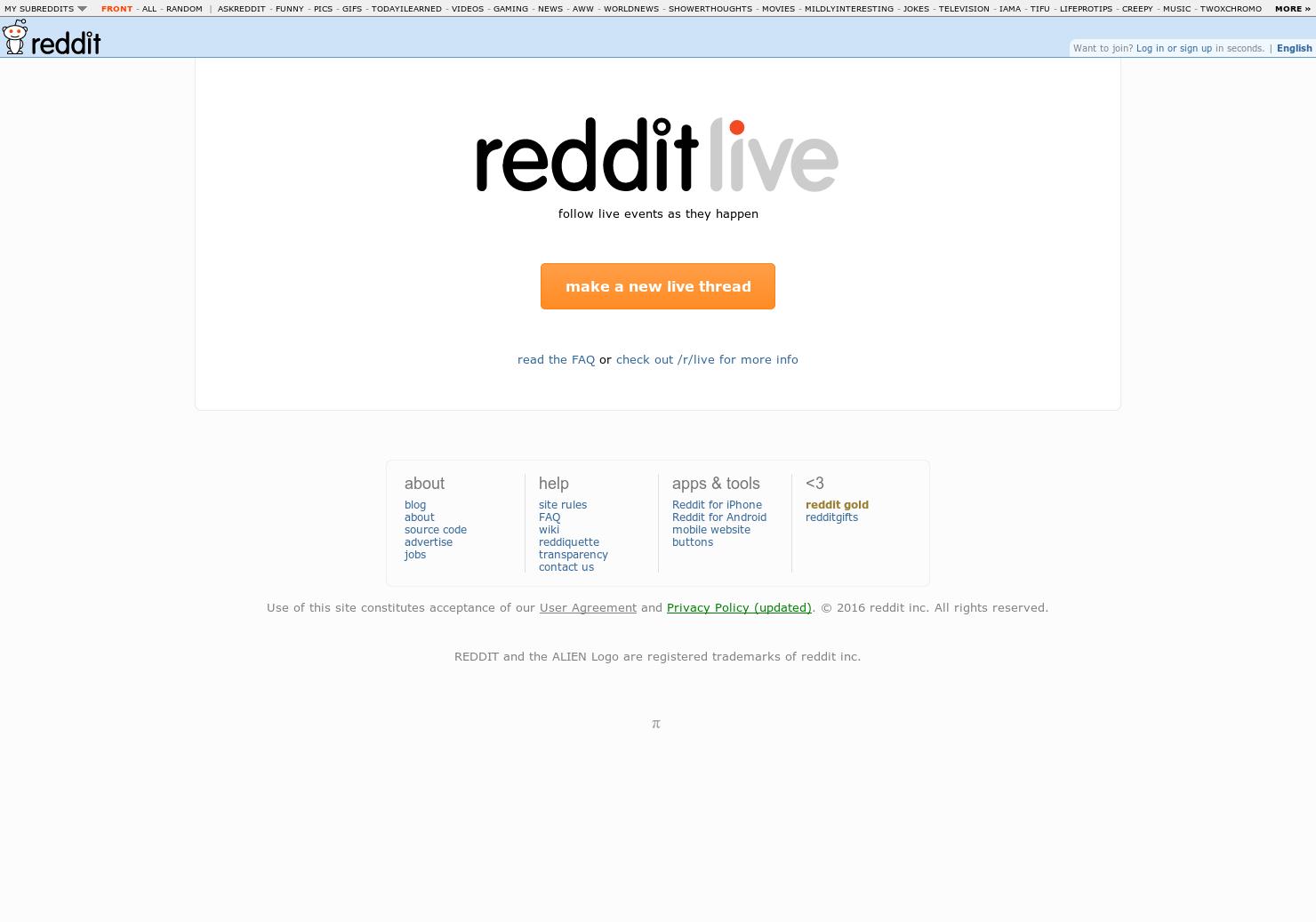 reddit Live - reddit for real-time updates   Product Hunt