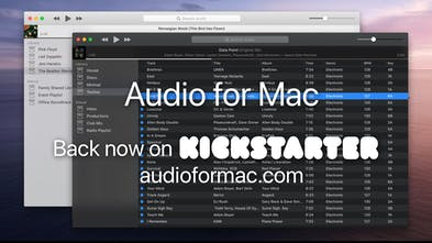 Audio for Mac - The music manager for collectors and professionals