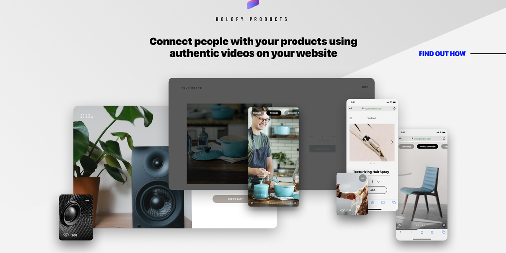 Holofy Products - Video stories for your website | Product Hunt
