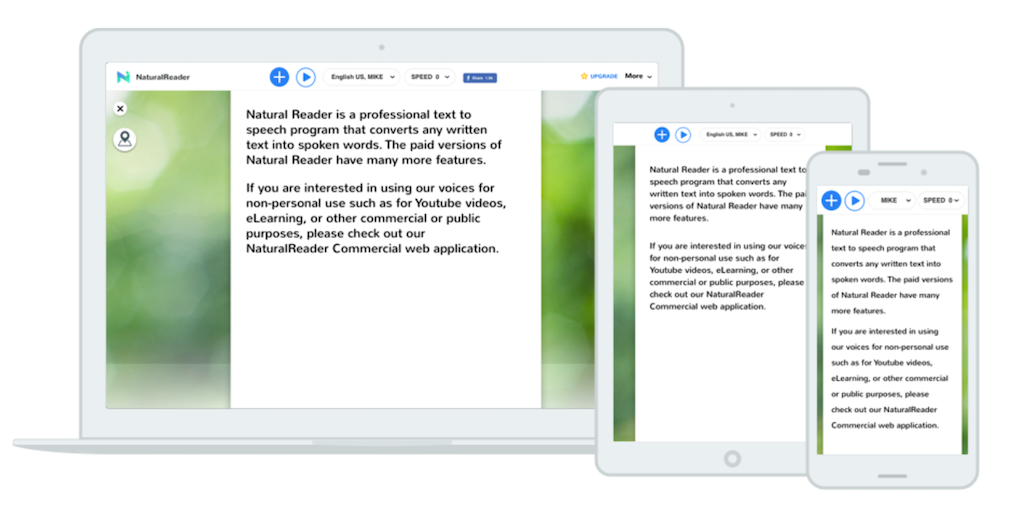 Natural Reader - The most powerful text to speech reader