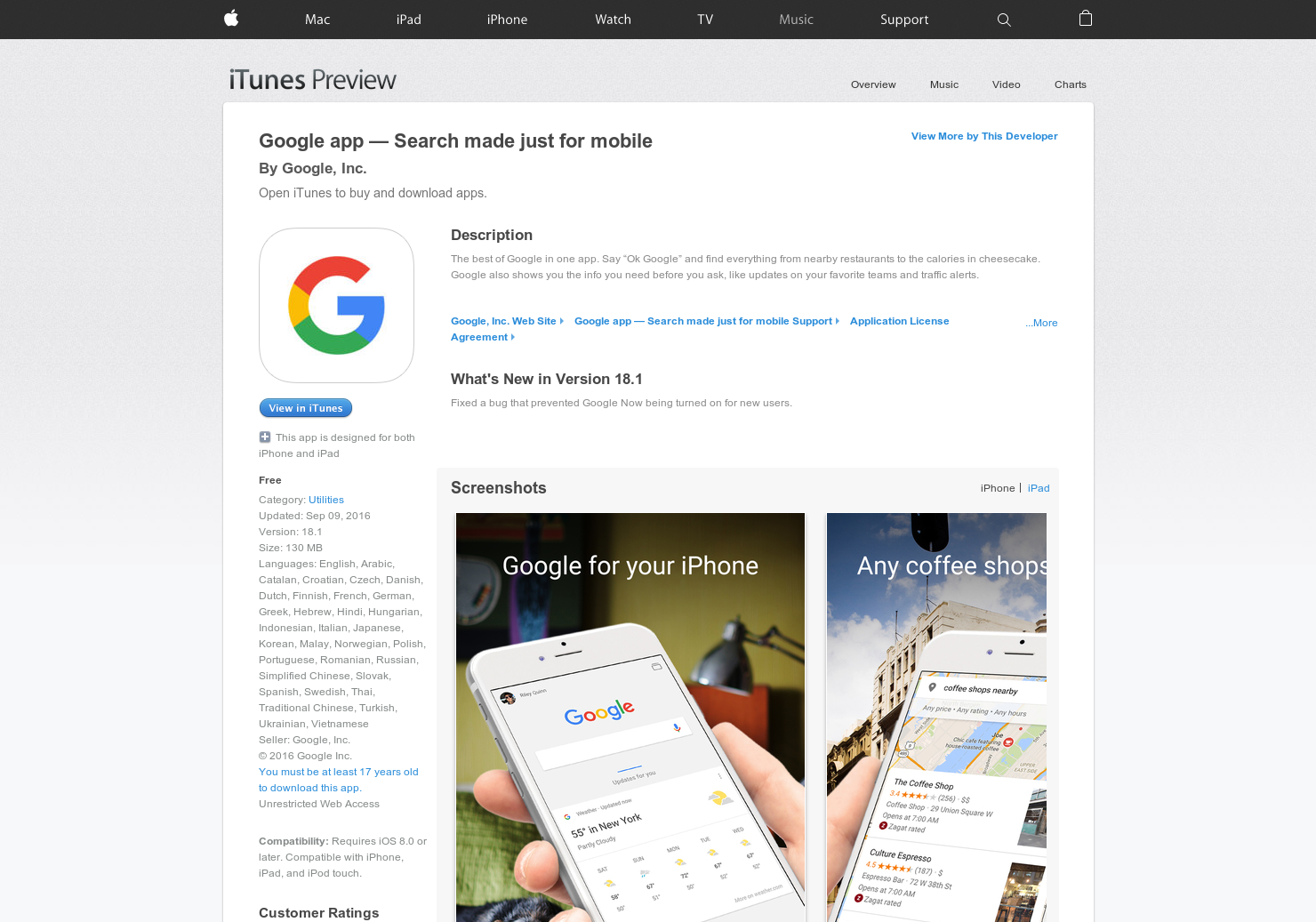 Google app for iOS 5 0 - New release completely rebuilt and