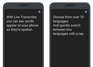 Google Live Transcribe - Google's new service built for the