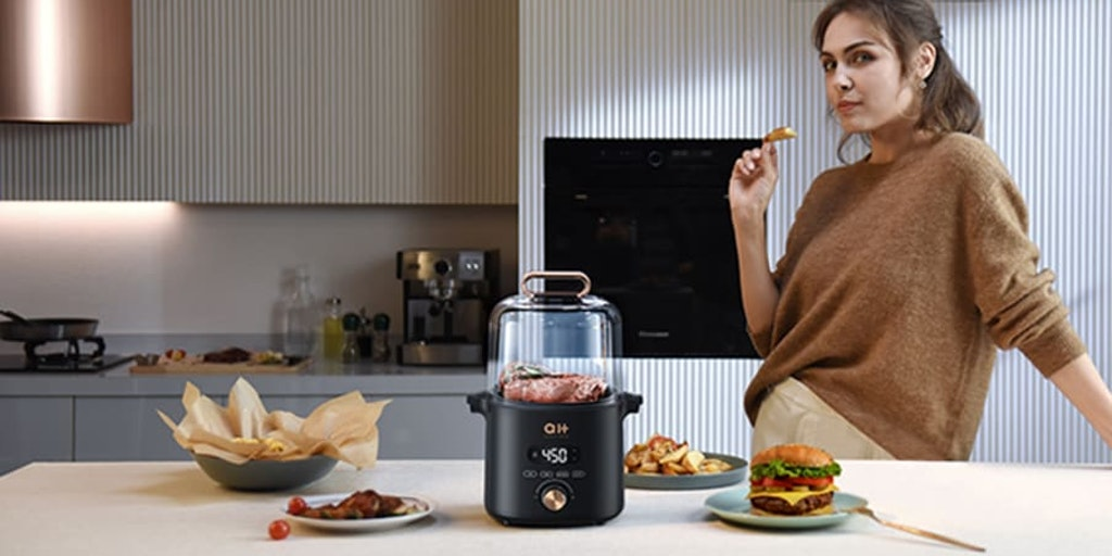 CrispX - Next-generation air fryer & grill combo for crisp cooking | Product Hunt