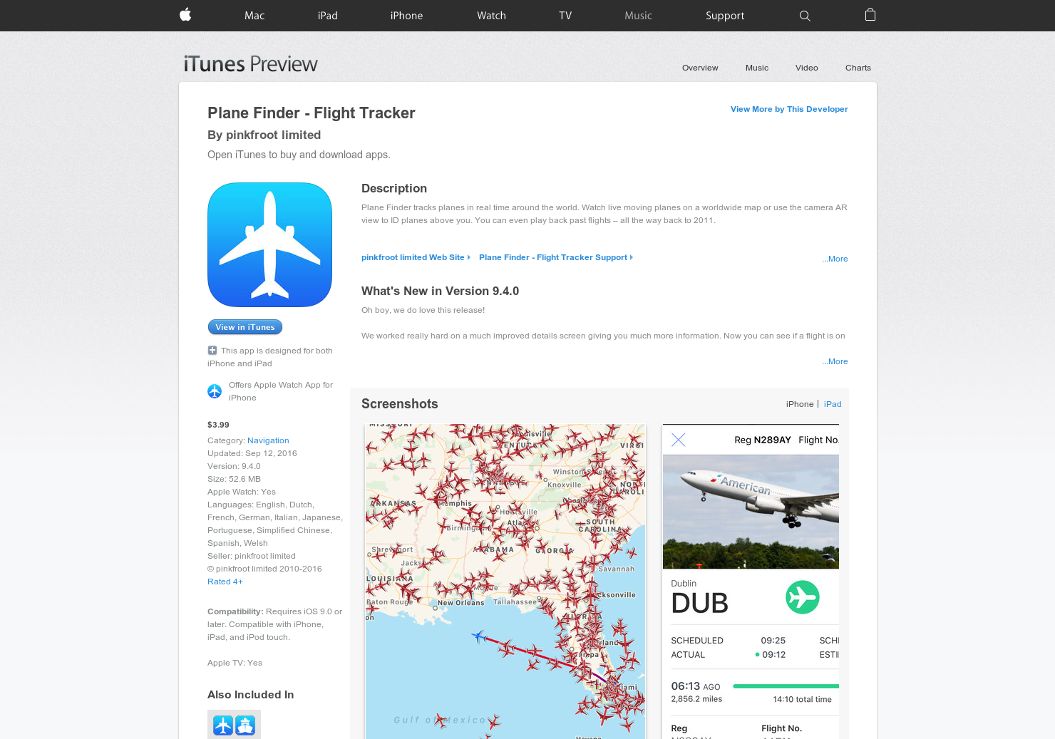 Plane Finder - Identify airplanes with iPhone | Product Hunt