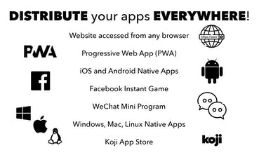 Koji - Develop and deploy web apps at a ludicrous speed | Product Hunt