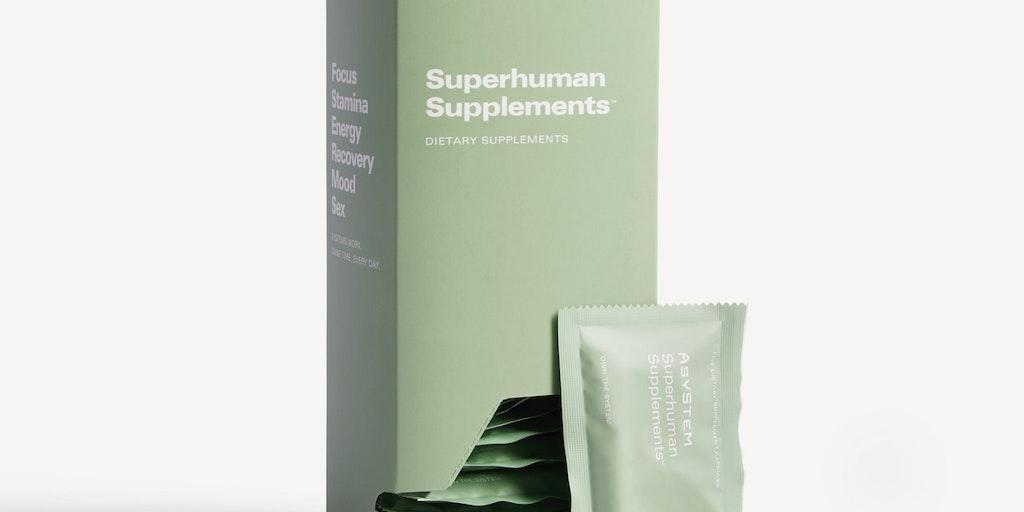 ASYSTEM - Total body healthcare for men | Product Hunt