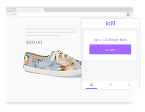 Lolli Earn Bitcoin When You Shop Online Product Hunt -