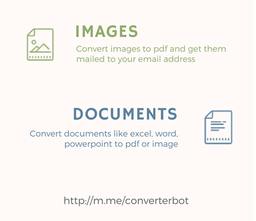 Converter Bot - Convert files and websites easily on