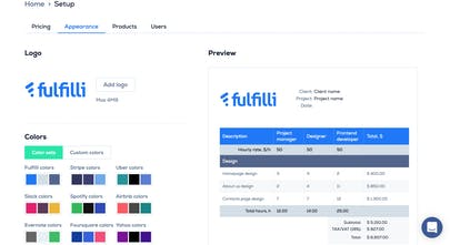 Fulfilli - Create simple, beautiful & powerful price quotes