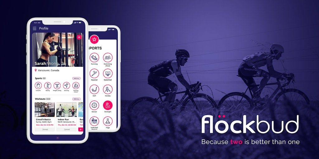 Flöckbud Sports App - Meet other athletes, create & join workouts, discover flocks | Product Hunt