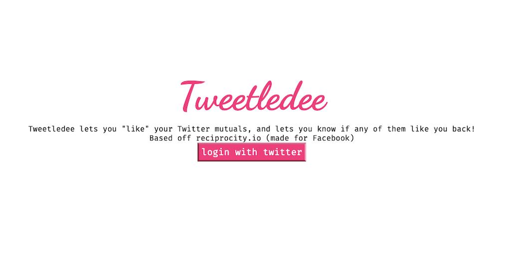 Tweetledee