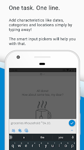 SwiftTask - Your smart todo list Add tasks in one line from everywhere