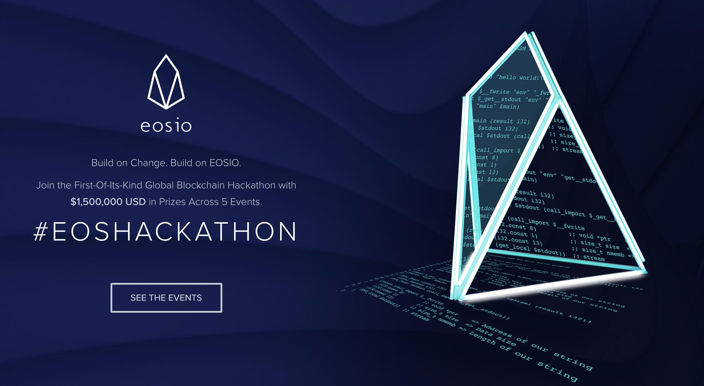 EOS Hackathon Global Series
