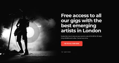 Gotobeat - Subscription for live music gigs | Product Hunt