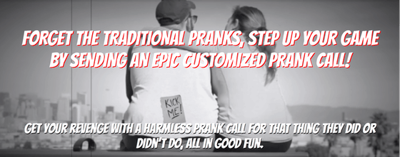 Custom Prank Call - Unleash a voice actor to prank call your