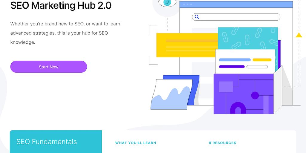 SEO Marketing Hub - Learn SEO For Free   Product Hunt