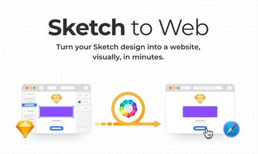 Sketch to Web - From Sketch design to live site in minutes