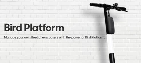 Bird Platform - Become an owner/operator of your own scooter