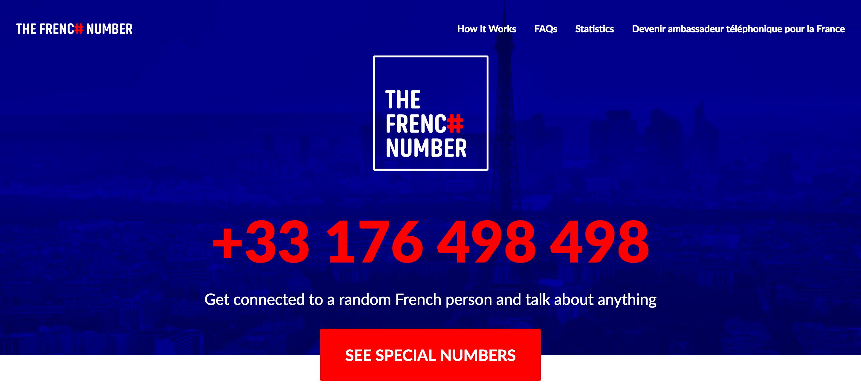 ''Oui allô?! Spreek ik met Frankrijk?''