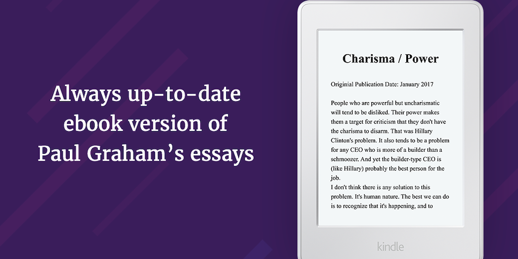 pg2epub - Download an always up-to-date ebook of Paul Graham's ...