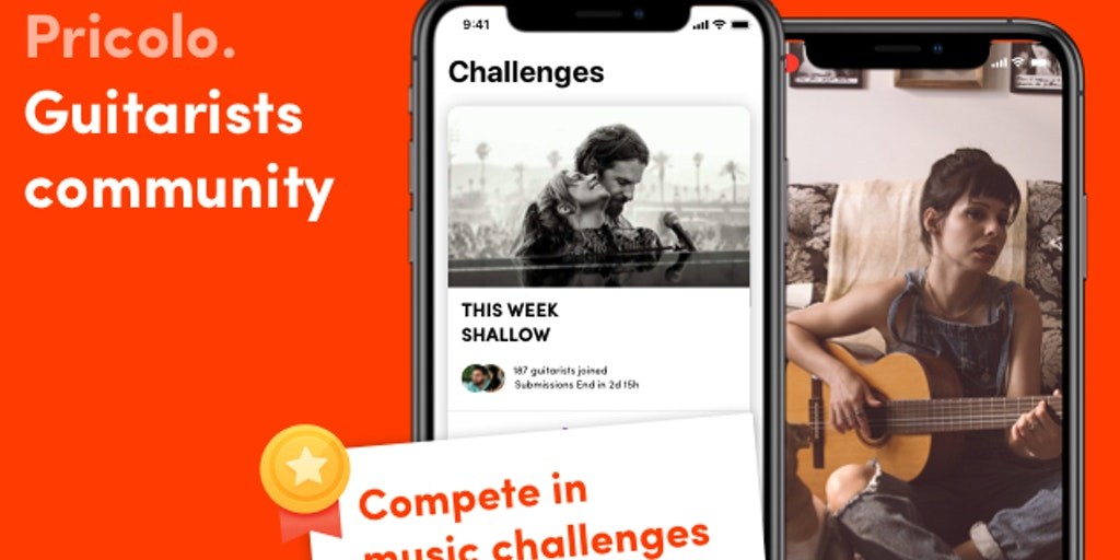 Pricolo Guitarists - Compete with guitarists in challenges | Product Hunt