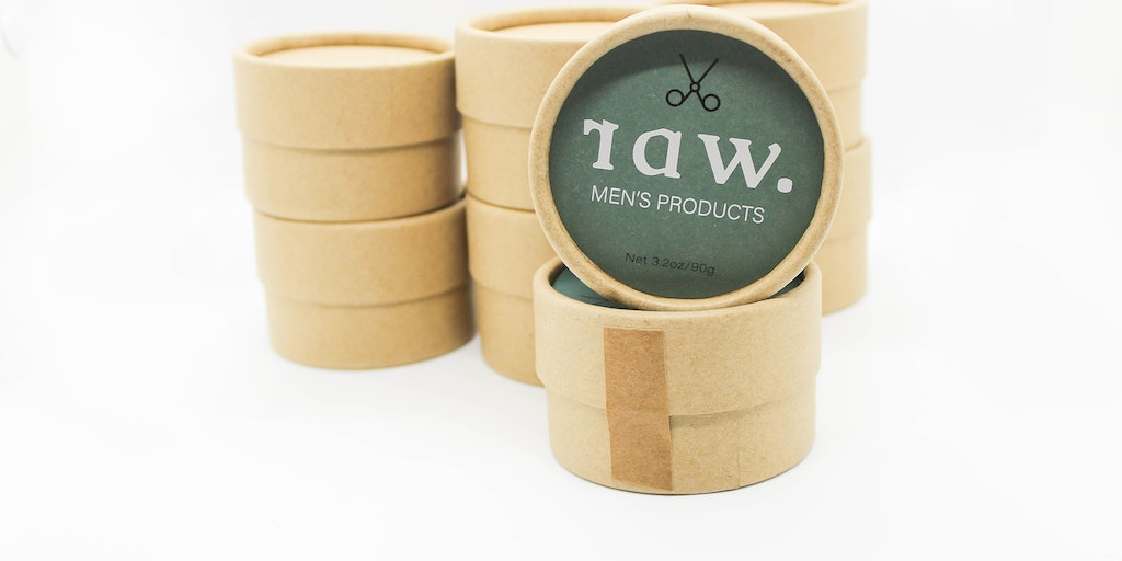 raw. - Natural men's hair products in biodegradable containers | Product Hunt