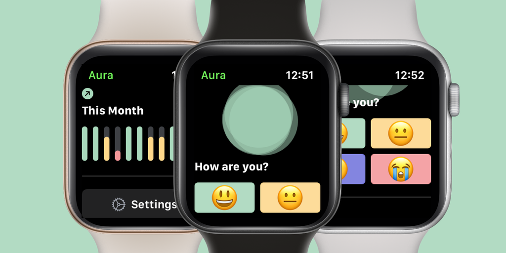 Aura - Simple mood tracker for Apple Watch | Product Hunt