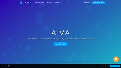 AIVA - The AI composing emotional soundtrack music | Product Hunt