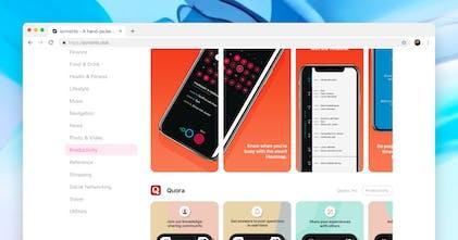 Scrnshts - A collection of the finest app store design screenshots