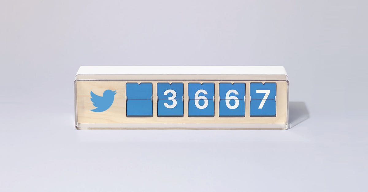 Smiirl Counter - An real-time counter of your Twitter, FB, or IG ...